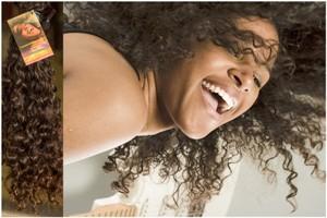 afro vlasy na prodlužování vlasů