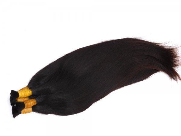 Tmavé vlasy Agapé tenké