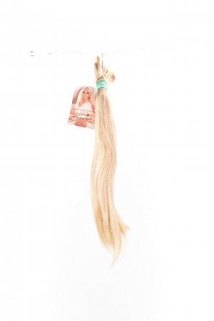 Přírodní blond odstíny na prodlužování.