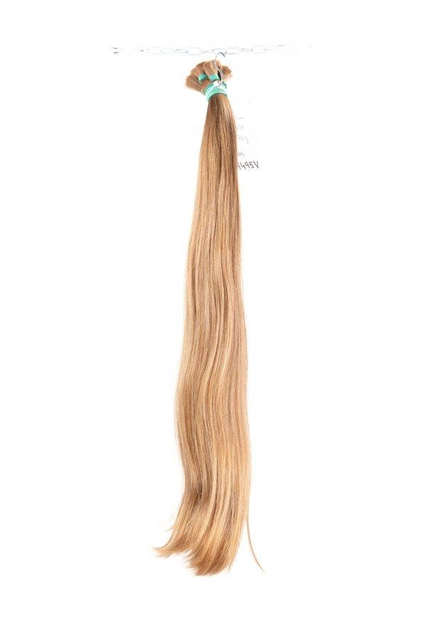 Přírodní odstíny nebarvených vlasů k prodlužování.