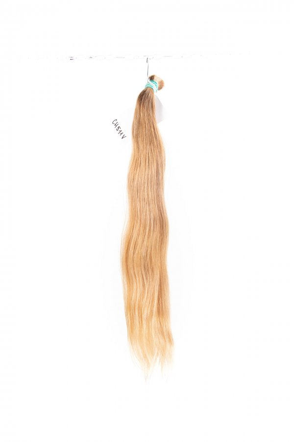 Dětské nebarvené vlasy na prodlužování vlasů.