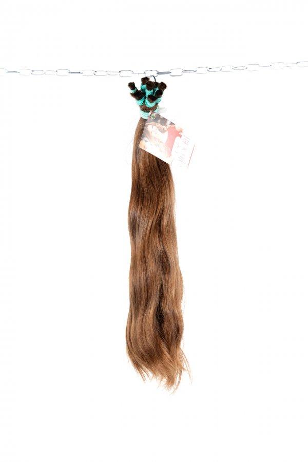 Objemné světlé vlasy z výkupu