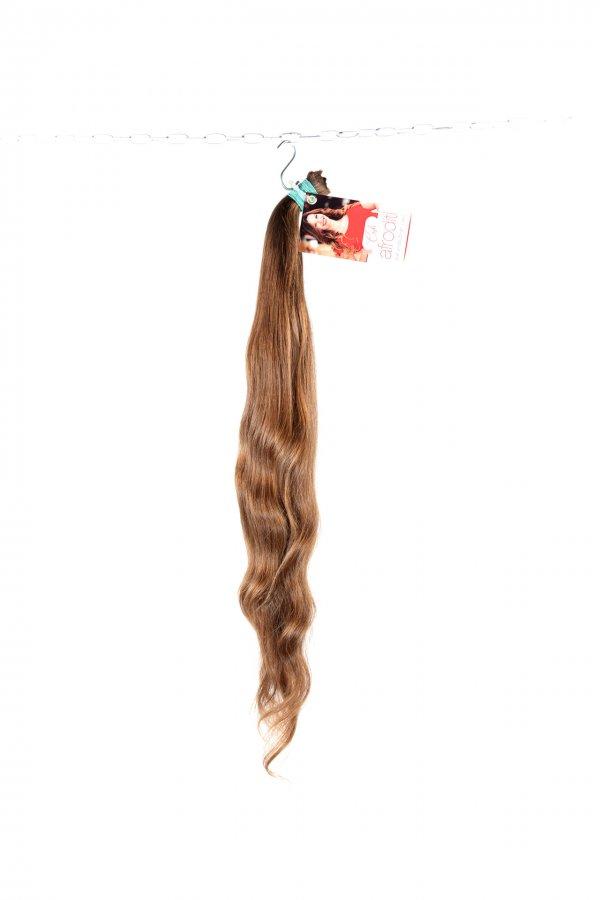 Krásné české vlnité vlasy