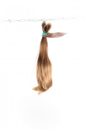 Mírně vlnité vlasy k prodlužování vlasů..
