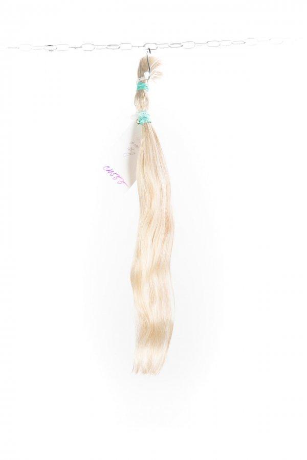 Přírodní platinové vlasy na prodlužování
