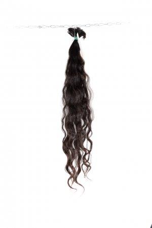Pevná vlna na prodlužování vlasů v přírodním odstínu