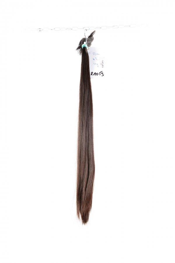 Dlouhé řecké vlasy v hnědém odstínu na prodlužování