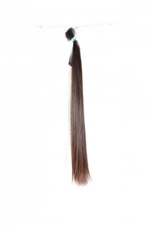 Dlouhé vlasy na prodlužování v hnědém odstínu