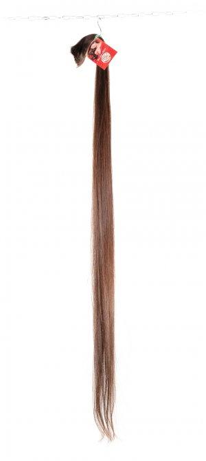 Dlouhé rovné vlasy k prodlužování vlasů