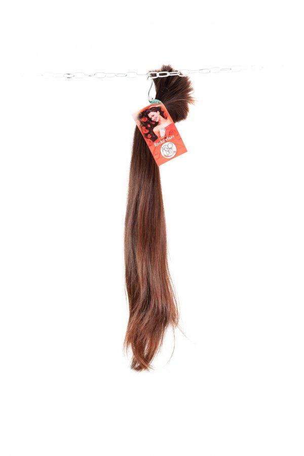 Světlá barva řeckých vlasů na prodlužování