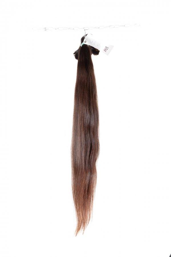 Rovné hnědé vlasy k prodlužování vlasů