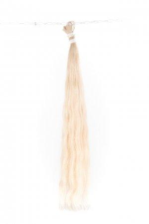 Luxusní světlé vlasy k prodloužení.