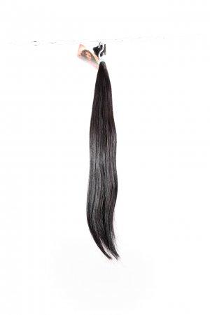 Přírodní hnědé vlasy k prodlužování.