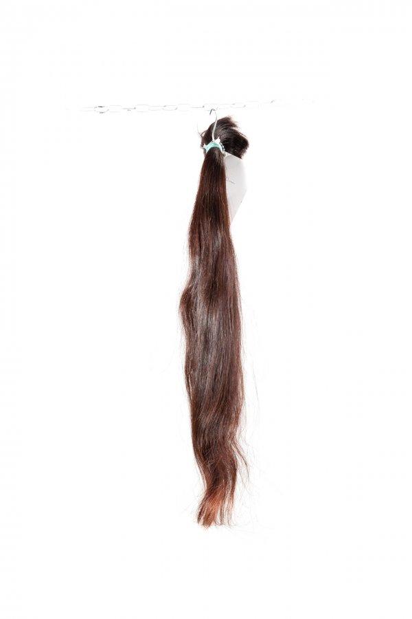 Rovné dlouhé vlasy na prodloužení vlasů.