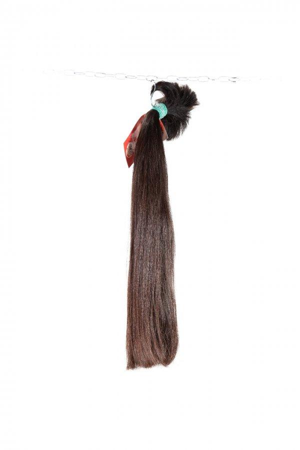 Husté řecké vlasy hnědé