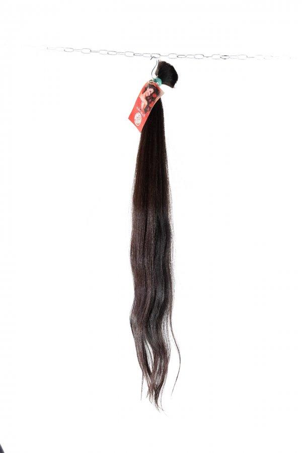 jemné vlna černé vlasy