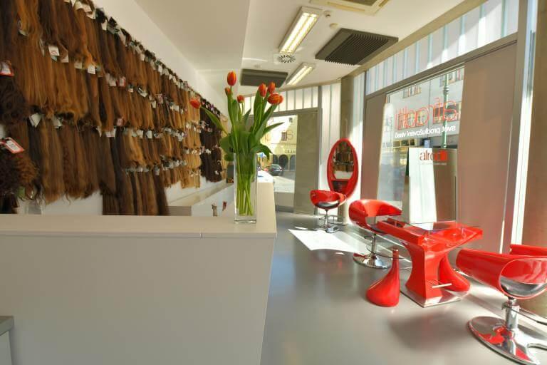 Salon Afroditi prodlužování vlasů