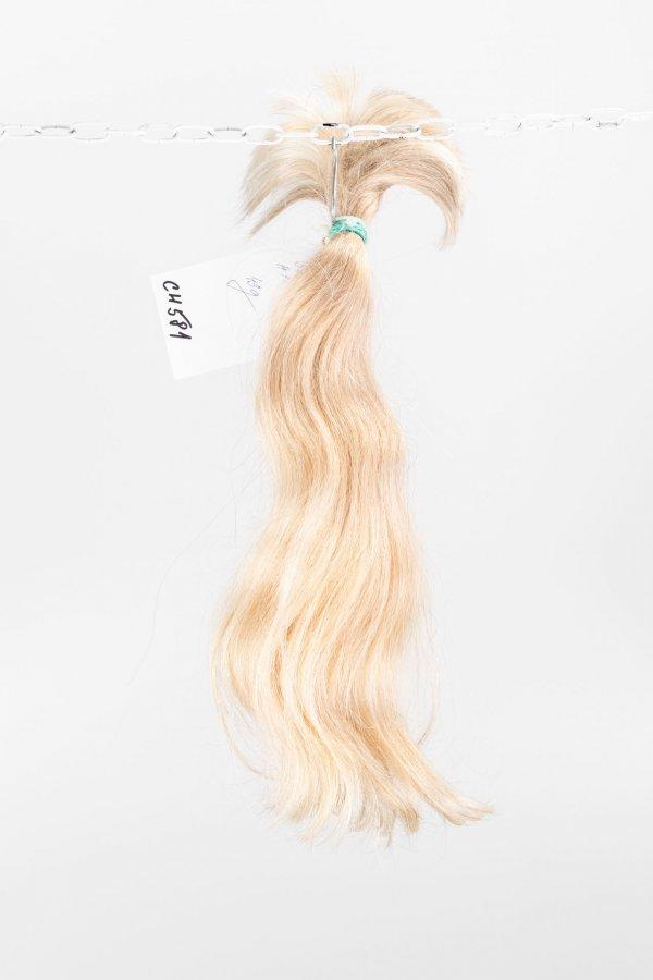 Dětské blond vlasy k prodloužení