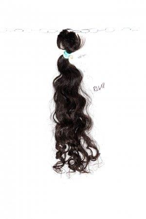 Kudrnaté vlasy evropského původu