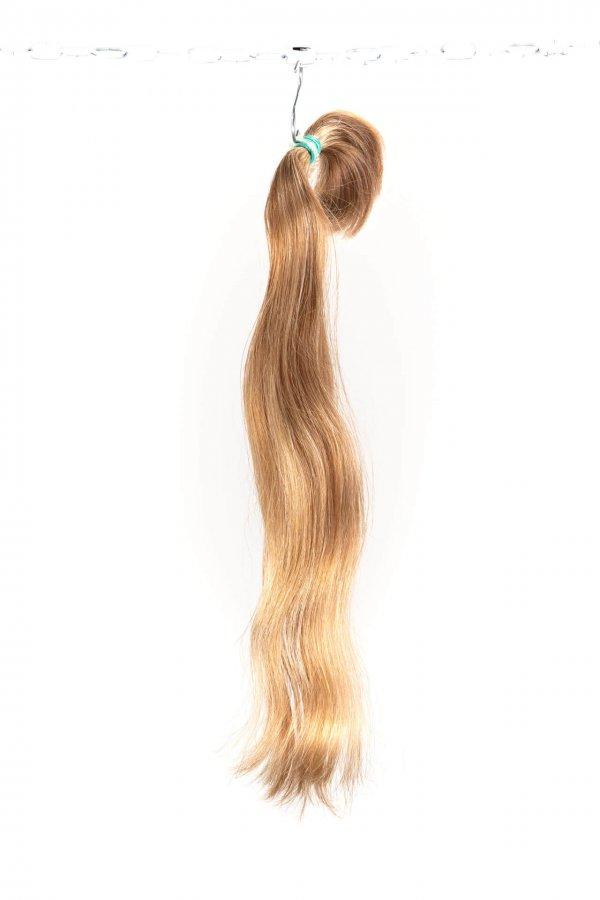 Evropské přírodní blond vlasy
