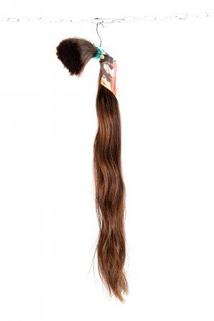 Lehce vlnité vlasy na prodlužování