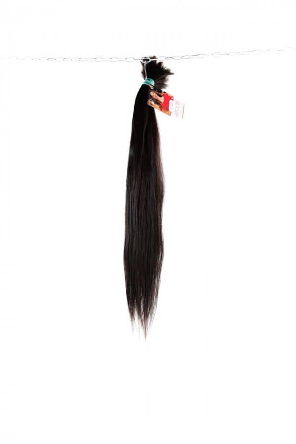Tmavé přírodní vlasy