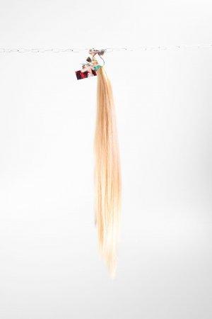 Světlé vlasy k prodloužení