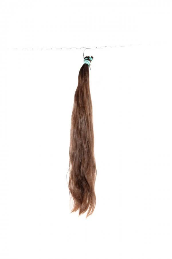 Přírodní lehce vlnité vlasy