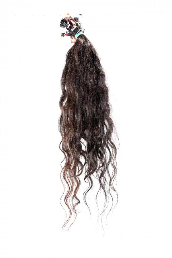 Vlnité české vlasy na prodloužení vlasů