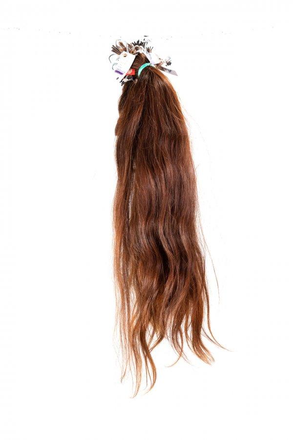 Hnědé vlasy k prodloužení