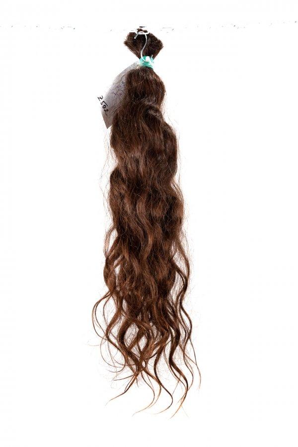 Přírodně vlnité vlasy