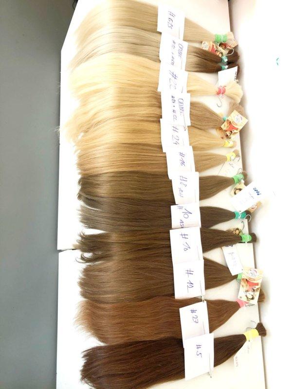 Prave vlasy blond na prodluzovani vlasu odstíny