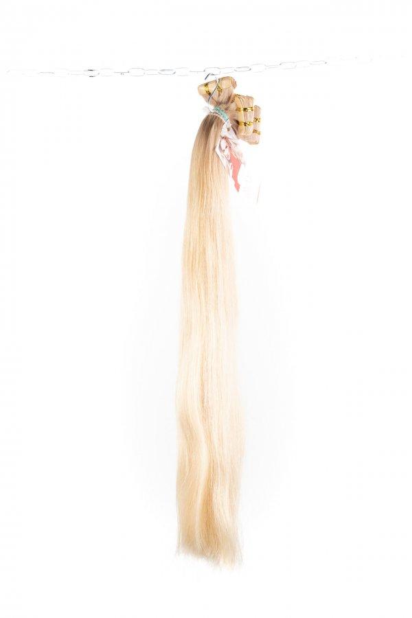 Vlasy na páskách k prodlužování vlasů.