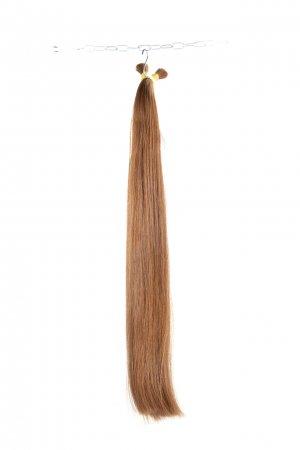 Dlouhé rovné barvené vlasy k prodlužování vlasů.