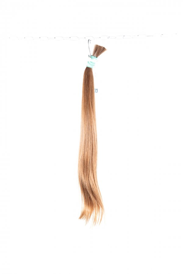 Evropské plavé vlasy jemné struktury