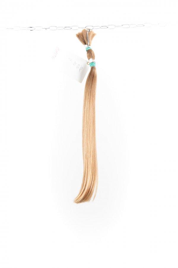 Přírodní blond culíky na prodlužování vlasů.