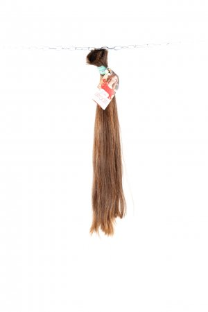 Středně hnědé vlasy k prodloužení