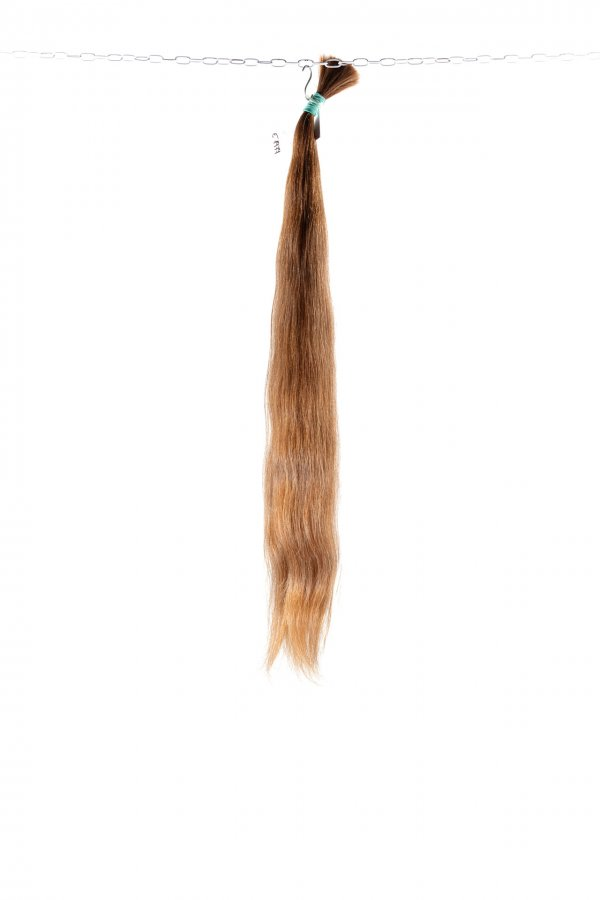 Světlé evropské vlasy