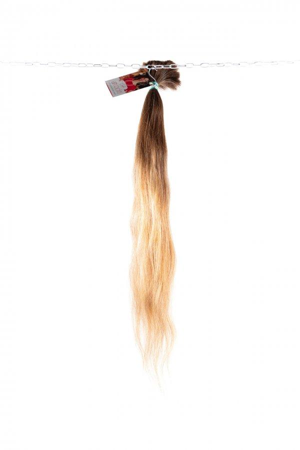 Plavé české vlasy na prodlužování