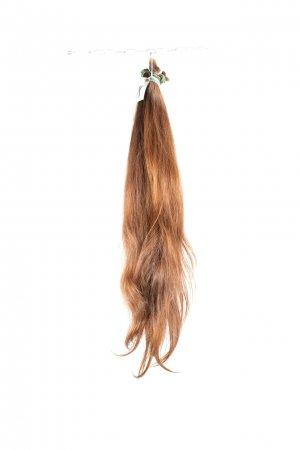 Evropské vlnité vlasy přírodní na prodlužování.