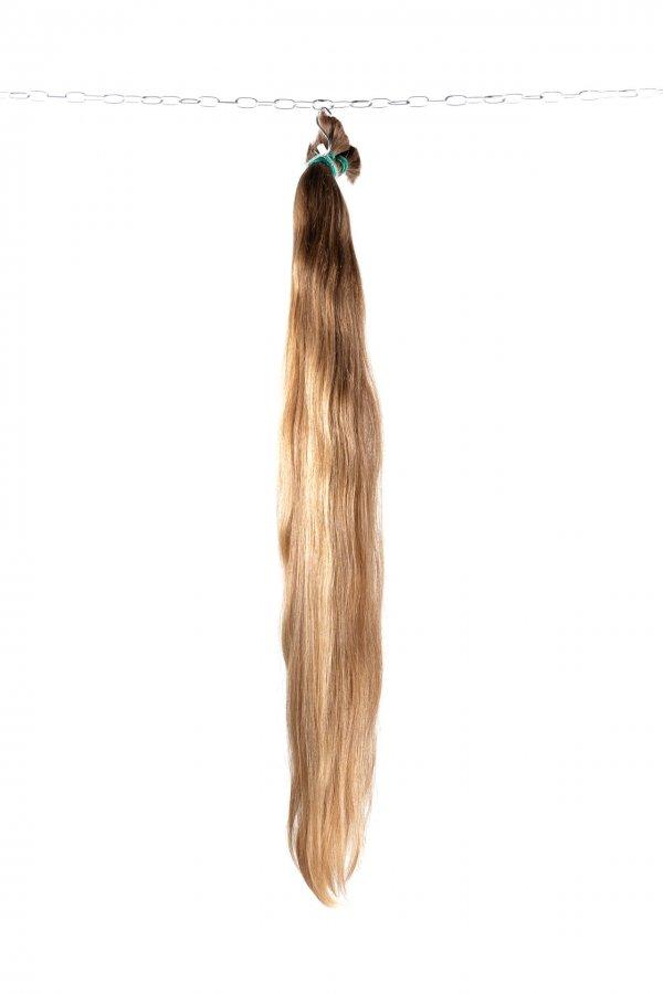 Přírodní české plavé vlasy