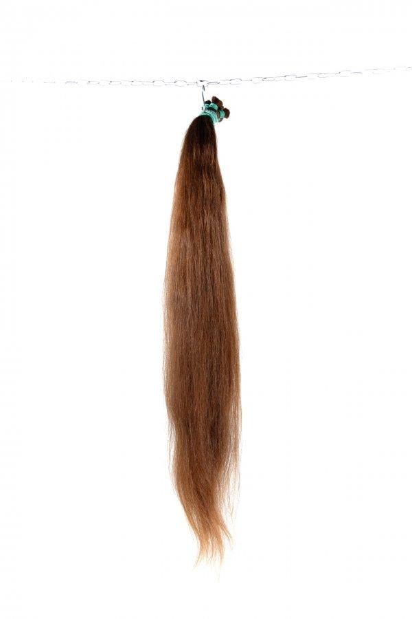 Objemné světlé vlasy