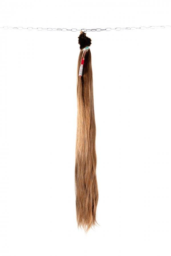Nádherné světle hnědé vlasy lehké struktury