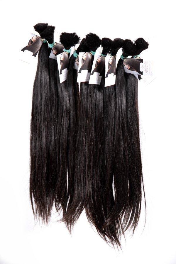 Agapé jemné, rovné vlasy na prodlužování