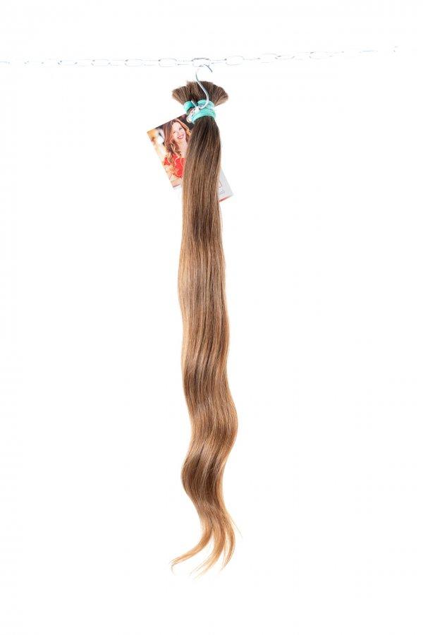 Lehce vlnité české vlasy k prodloužení
