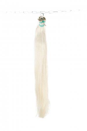 Přírodní platinové vlasy na prodlužovní