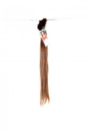 Středně hnědé české vlasy na prodlužování