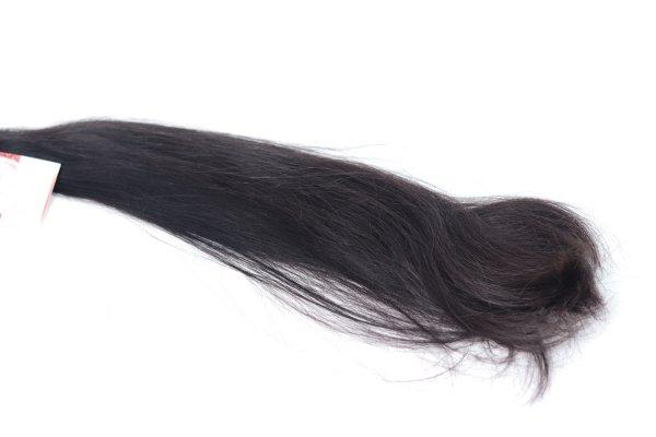 Přírodní tmavé vlasy k prodlužování