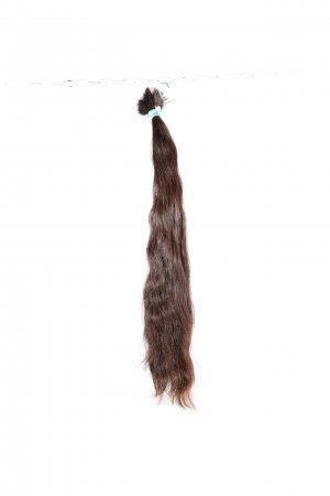 Dlouhé brazilské vlasy k prodlužování vlasů.