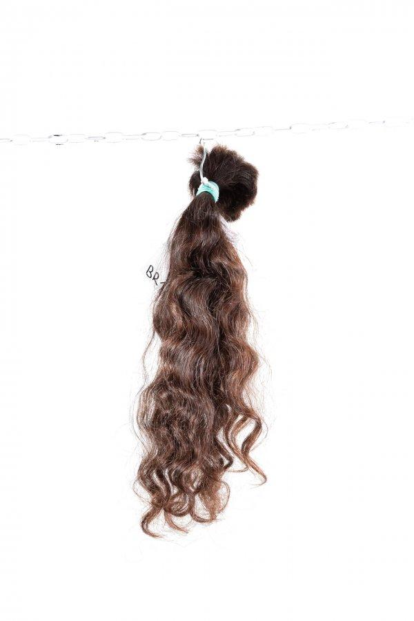 Pevná vlna brazilských vlasů.